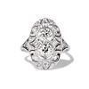 1.75ctw Edwardian Toi et Moi Old European Cut Diamond Ring  0