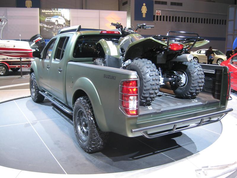 Custom 2009 Suzuki Equator
