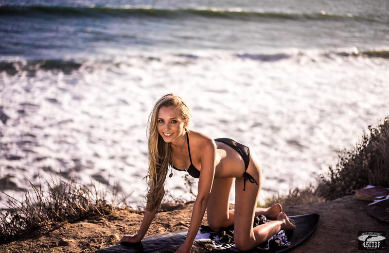 Sony A7R RAW Photos of Tall, Thin Pretty Blond Bikini Swimsuit Model Goddess! Carl Zeiss Sony FE 55mm F1.8 ZA Sonnar T* Lens ! Lightroom 5.3 ! 45surf Surfboard!