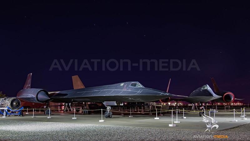 US Air Force / Lockheed SR-71A Blackbird & A-12 Oxcart / 61-7973 & 60-6924