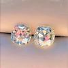 3.49ctw Old Mine Cushion Cut Diamond Pair GIA K VS1 0