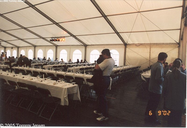 Jean Michel Jarre at Gl. Vrå Enge 2002