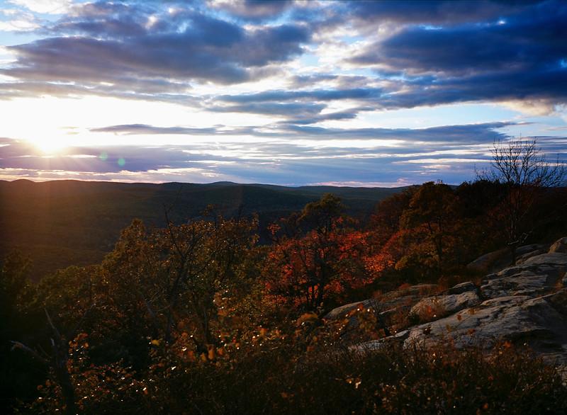 Bear Mountain Sunset