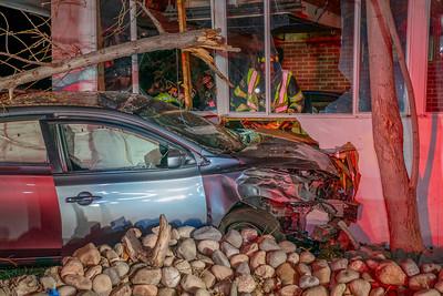 Fairfield Way Car vs. Structure
