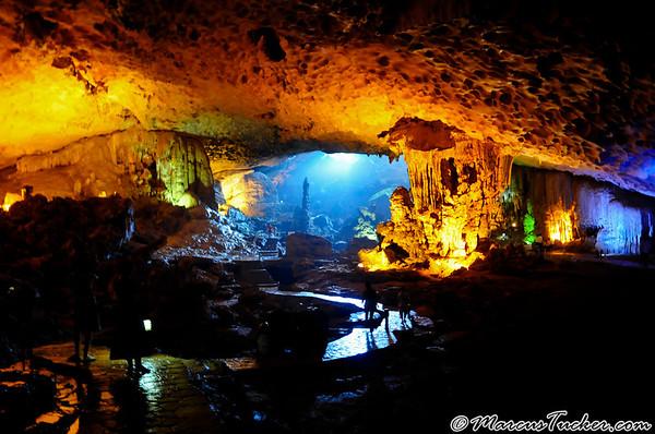 August 2008 - Vietnam - Halong Bay Caves