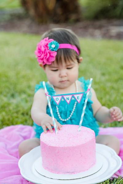 Valeria's Cake Smash