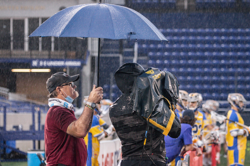 7/22/2020; Annapolis, MD, USA; Lizards vs. Hammerheads  - at Navy Marine Corps Memorial Stadium. Mandatory Photography Credit: Anne Evans