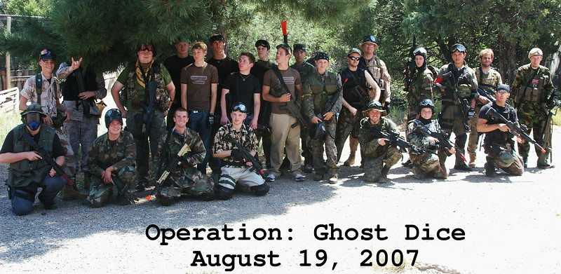 Ghost Dice Group Photo