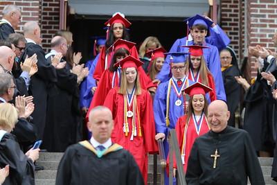 Mount St. Charles Graduation 2018