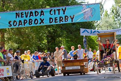 Nevada City Soapbox Derby 2012