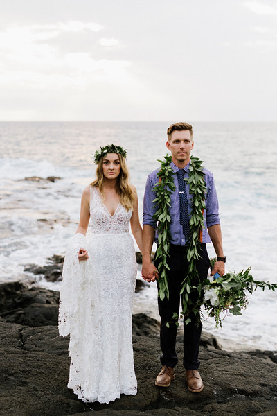 Amanda + Chris / Big Island Wedding