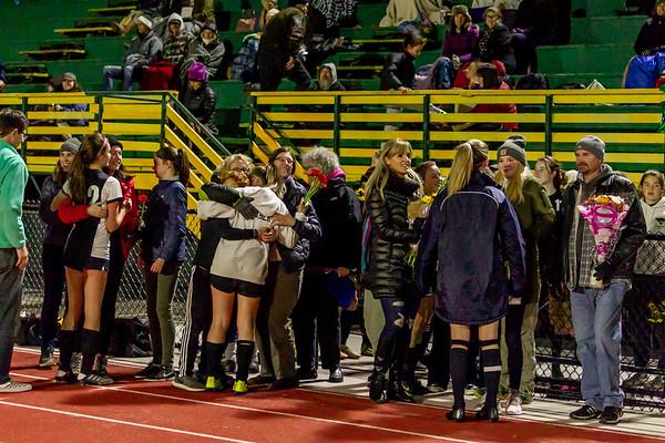 Set one: Vashon Island High School Girls Soccer Seniors Night 2019 10/30/2019