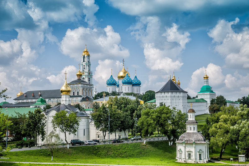 Sergiev Posad and Trinity Monastery, Russia