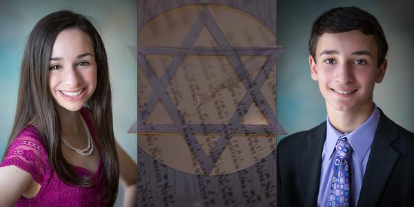 "Carleigh and Chase B""Nai Mitzvah Album Design"