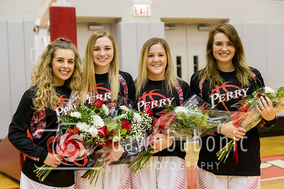 Perry Girls Senior Night