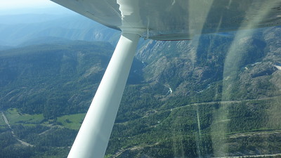 Sierra Nevada mountains and Lake Tahoe 5-17