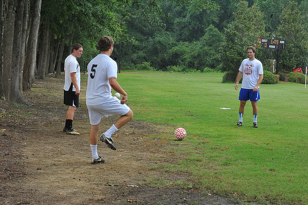 2013 Men's Soccer Alumni Game