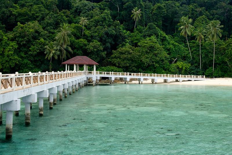 Lang Tengah jetty