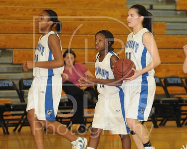 Easley at Woodmont Girls 1-31-12