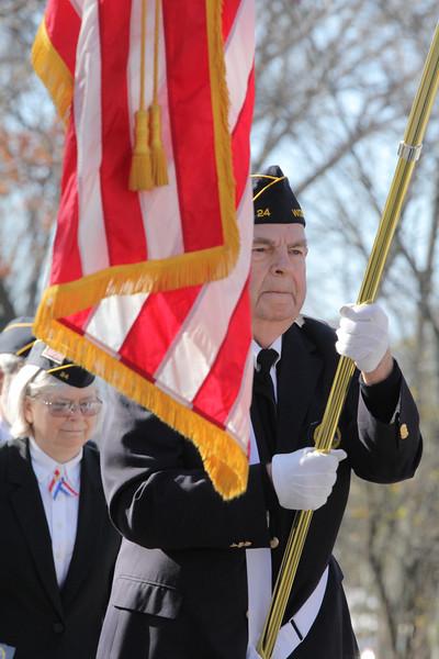 Woodstock Veterans Day Ceremony