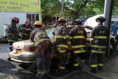 Amityville F.D. MVA w/ Entrapment Cedar St. and Park Ave. 5/26/14