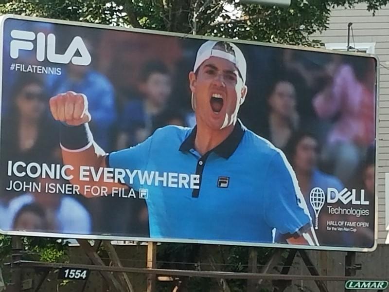 john isner billboard