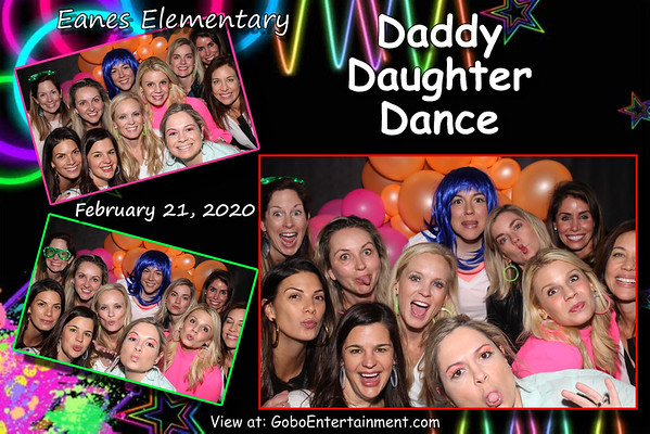 20200221 Eanes Daddy Daughter Glow Party