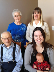 The Five Generations - January 2015