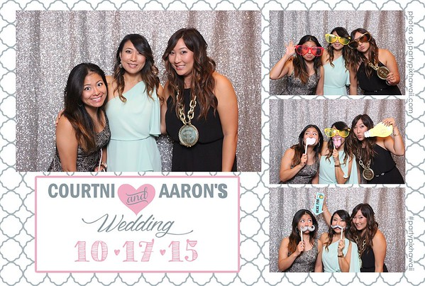 Aaron & Courtni's Wedding (Mini Open Air Photo Booth)