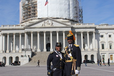 ARIZONA BUFFALO SOLDIERS, MESA, AZ. ZERO Prostate Cancer on Capitol Hill, Washington, D.C.(Day 3) invited Cmdr Marable and Deputy Cmdr Michelle London-Marable, Buffalo Soldiers of the Arizona Territory - LGR.  March 18, 2015