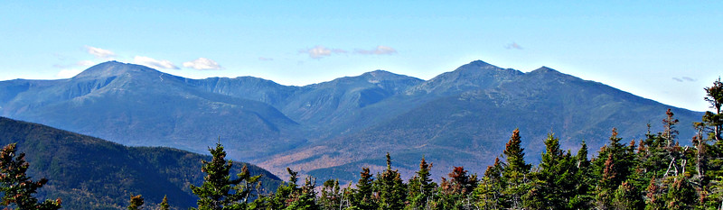 From Mt. Moriah, the Presidentials.