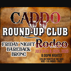 Caddo Rodeo - Friday Night Bareback Bronc