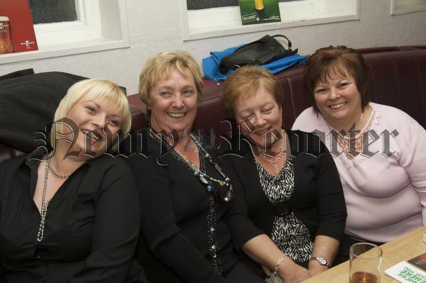Charity Night in aid of Macmillan Nurses in the Armagh Down Bar on Saturday last.Ann Flynn, Maura Mc Mahon, Phil Kavanagh, Fiona Kavanagh.10W45N720