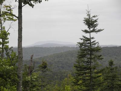 Blue Ridge, north peak & Crystal, NW peak, 15 AUG 2011