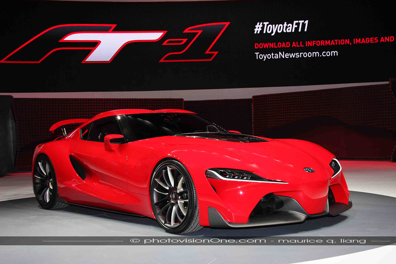 Highlights from the 2014 Detroit autoshow.  Star is the Toyota FT1.