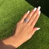 1.75ctw Edwardian Toi et Moi Old European Cut Diamond Ring  47