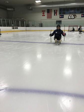 April - Sled Hockey