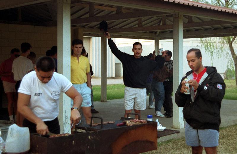 1992 09 19 - BBQ at Falcon field 16.jpg