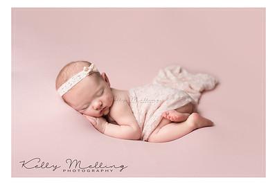 beautiful baby lilah, newborn photoshoot