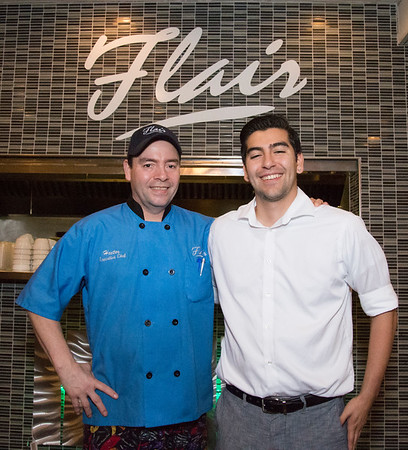 06/19/19 Wesley Bunnell | Staff Father and son as well as co-owners of Flair Restaurant in Southington Hector Delgado and Jose Delgado.