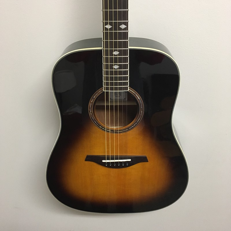 Hohner A+ Dreadnought Guitar Tobacco Sunburst
