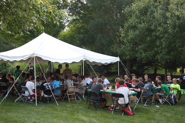 Boys Team Dinner 9-9-16
