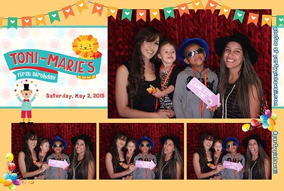 Toni Marie's 1st Birthday (LED Open Air Photo Booth)