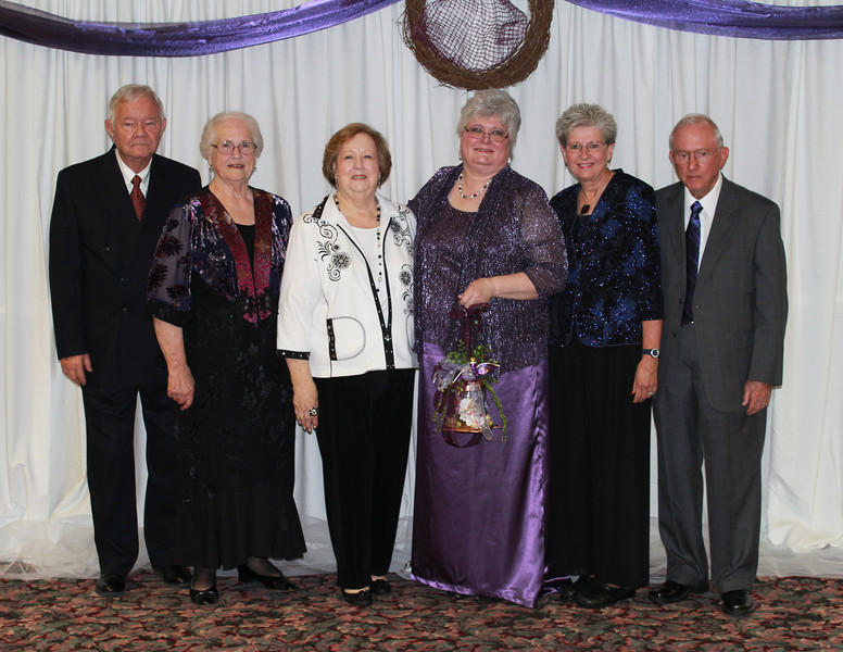Super Friends - James and Sue Holland, Doris Sneed, Ann Southall, Sandra and Gene Jones