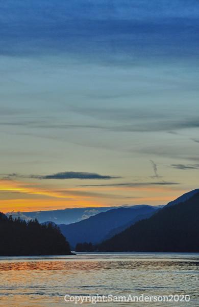 sunset mid