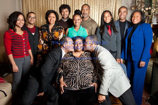 Arthur & King Family Christmas 2011