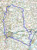 Devon Two Valleys ride ............. the route.