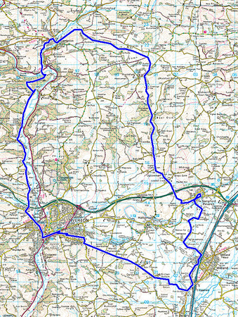 Devon Two Valleys ride 26/04/14