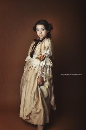Vintage Portrait - Elena Collection - Dani Geddes