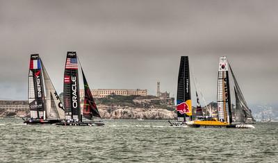 Americas Cup Racing San Francisco